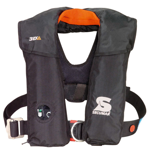 An example of a good basic 150N automatic lifejacket