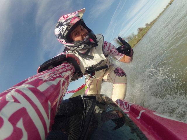 Anya Colley retains European Jet Ski title