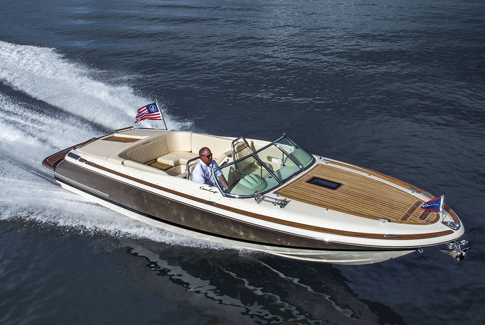 Retro powerboats: Chris Craft Corsair 27