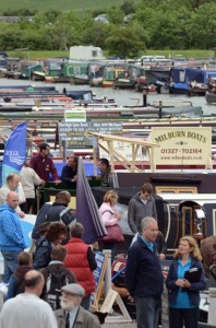 Marston's Brewery on board for Crick Boat Show