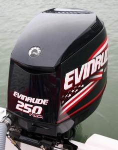 Evinrude 250 engine
