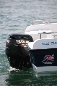 Suzuki DF90 four-stroke outboard