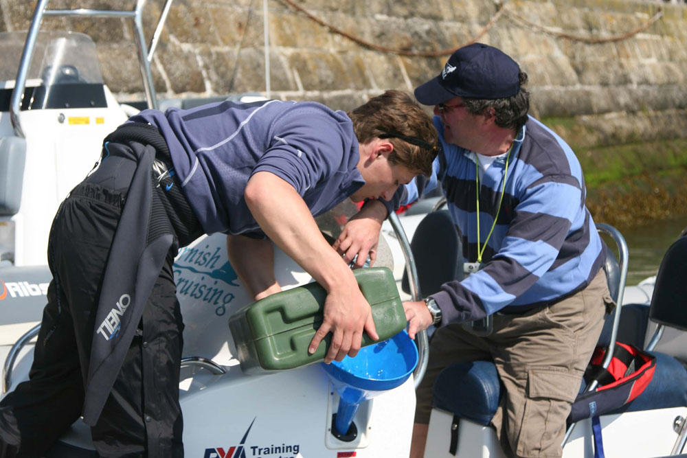 Topping up with fuel – helming blunders