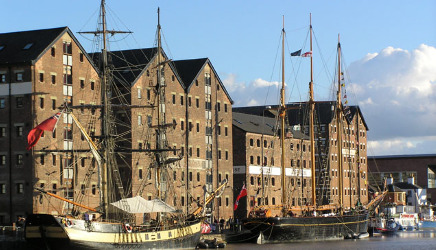 Gloucester Docks: UK canal holiday destinations