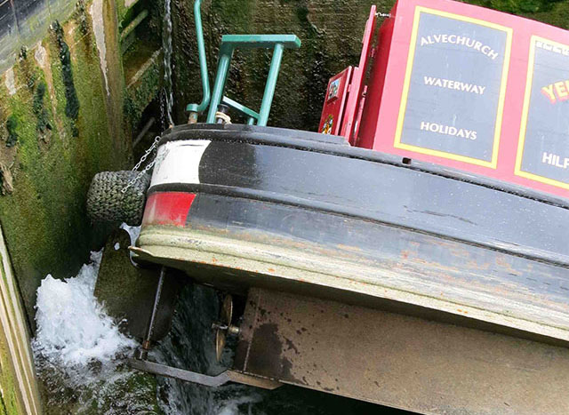 Canal boat disaster: the joys of third-party mishaps