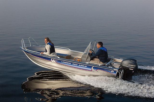 Linder Arkip 460 - powerboats for under £20k