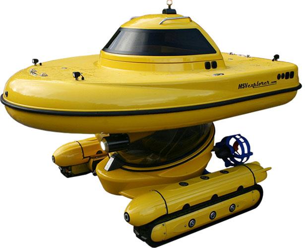 MSV Explorer: best amphibious vehicles
