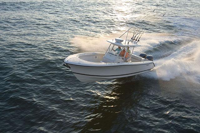 Top fishing boats: Pursuit C310