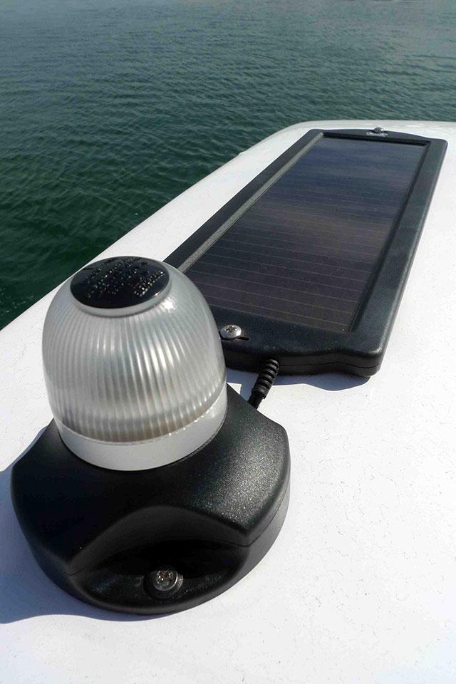 Radar arch mini top-up solar panel