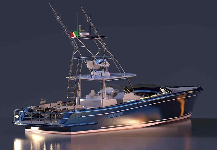 Sagitta 42: stern layout options