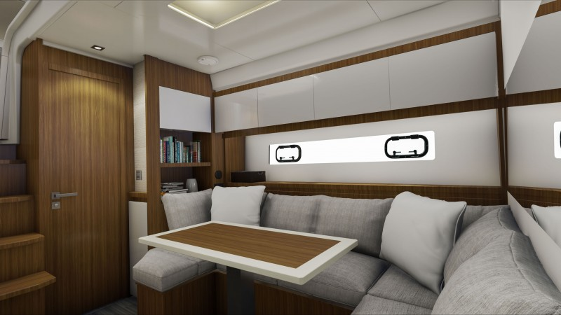 Lounge area – Jeanneau Leader 46