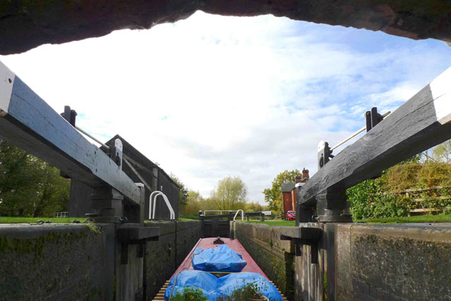 Avoiding the cill – how to operate a lock