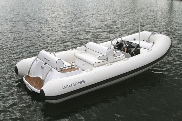 Jetboat Williams 445 - Grands constructeurs britanniques