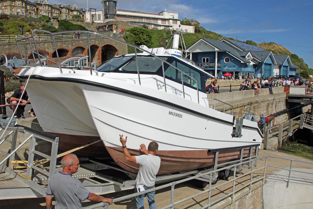 Fishing boats – catamaran hull