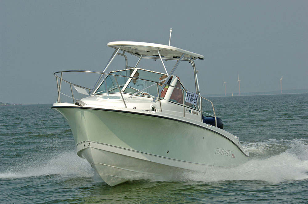 Powerboats: sports fisher.