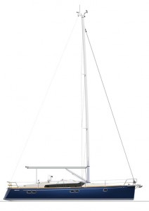 Gunfleet 43 sailplan