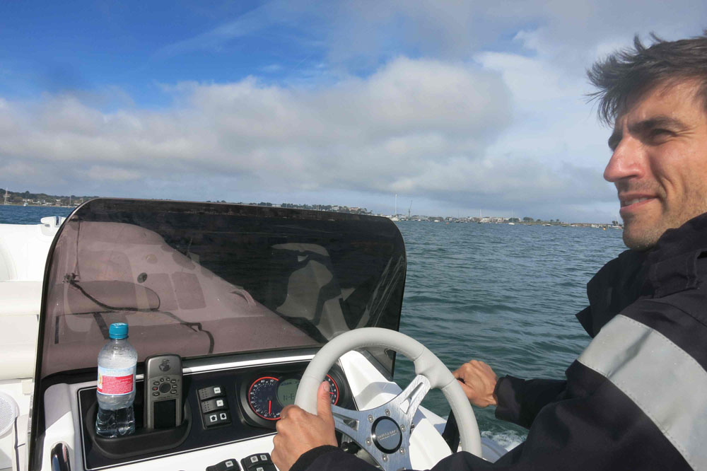 Focus on the helm: how to conduct a successful sea trial