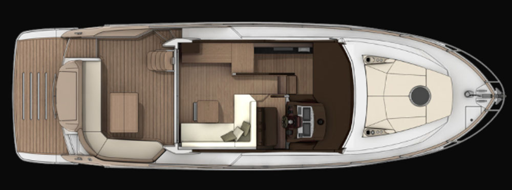 Main deck layout: Sessa Fly 42 review