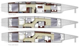 Isara 50 three cabins