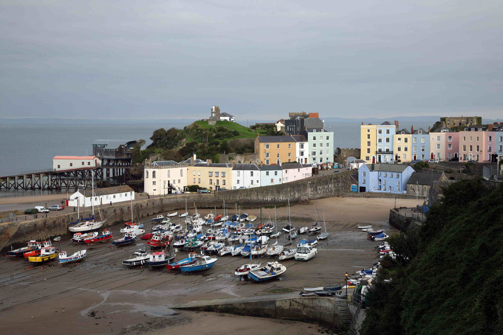 Tenby – 10 of the best UK boating destinations