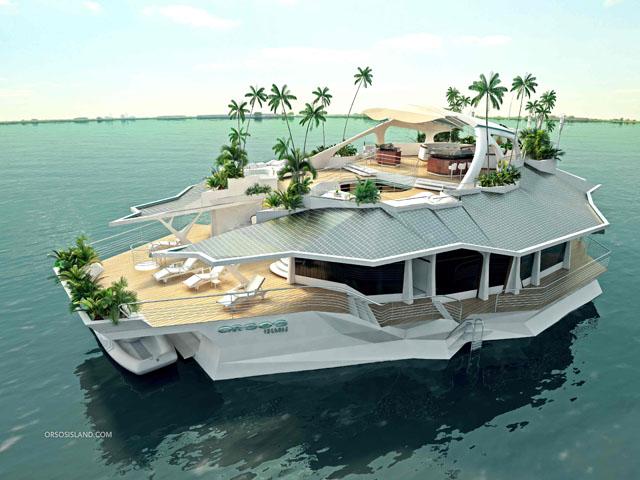 Orsos Island: Extraordinary vessels