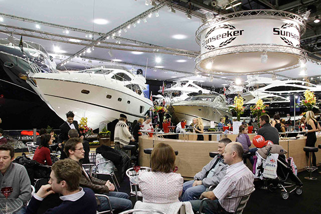 London Boat Show adds final touches
