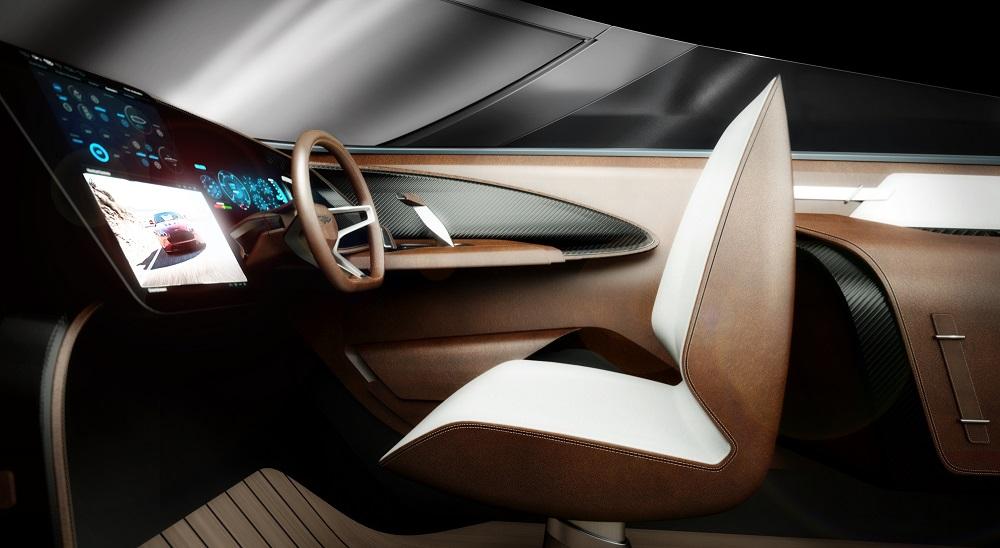 Styling – Aston Martin AM37 details