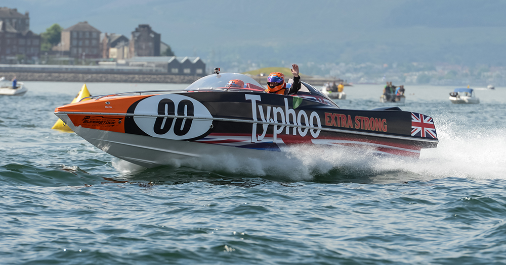 Powerboat racing: Superstock