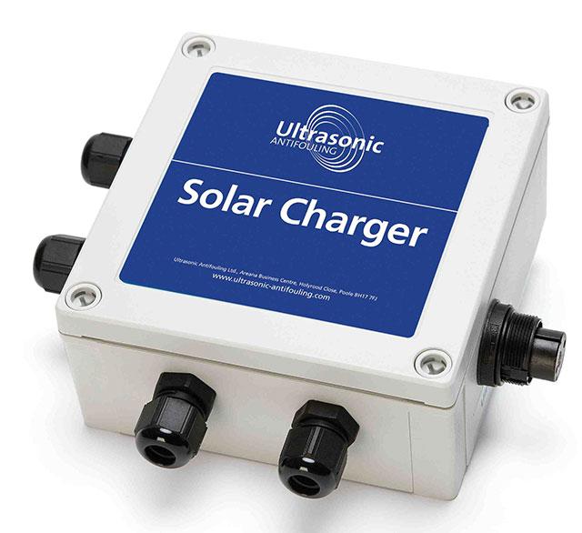 Solar power antifouling solution