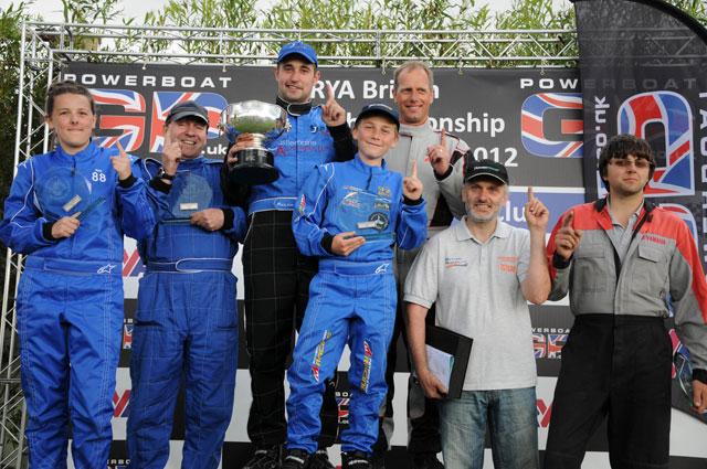 Powerboat GP Sprint Championship Winners