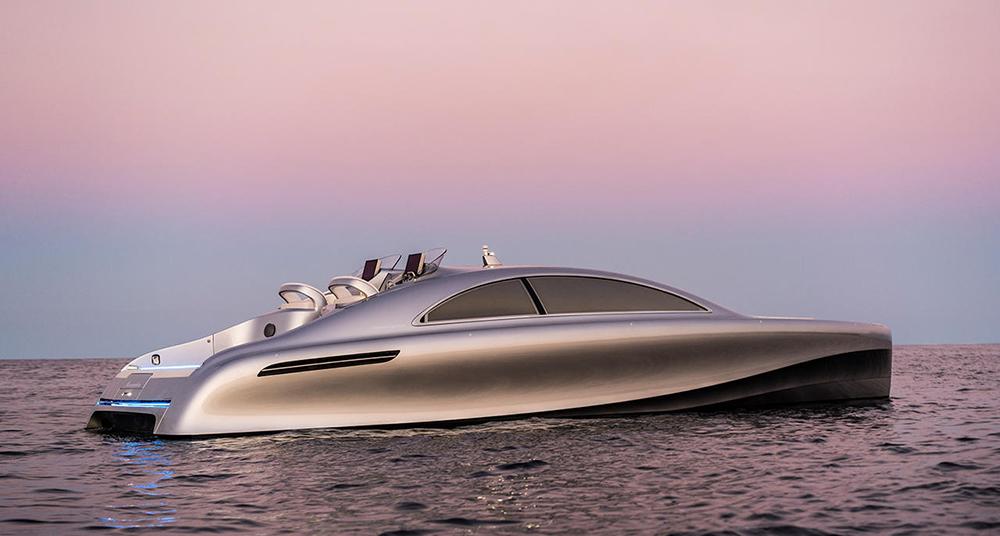 Mercedes boat