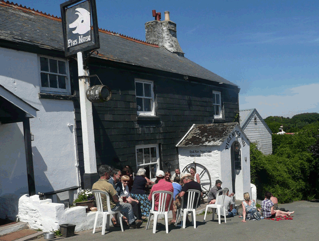 The Pig's Nose – boating pub