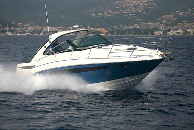 Powerboat buying - a crusier.