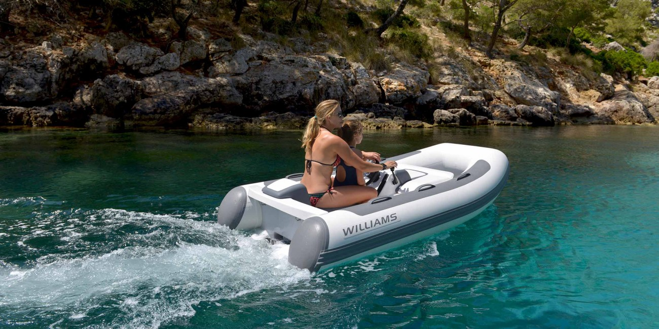 The new baby of the range makes Williams much more affordable to the owners of small cruisers
