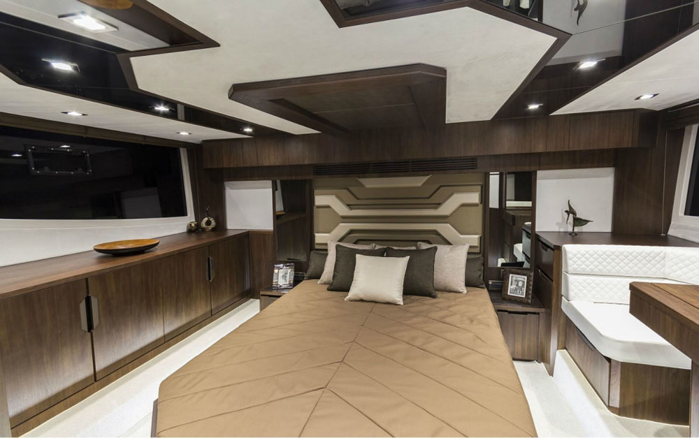 Quality construction below decks – Galeon 500 Fly