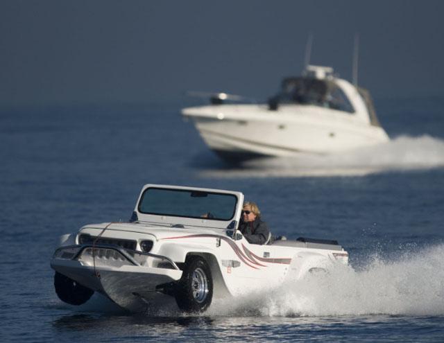 Watercar Panther: best amphibious vehicles