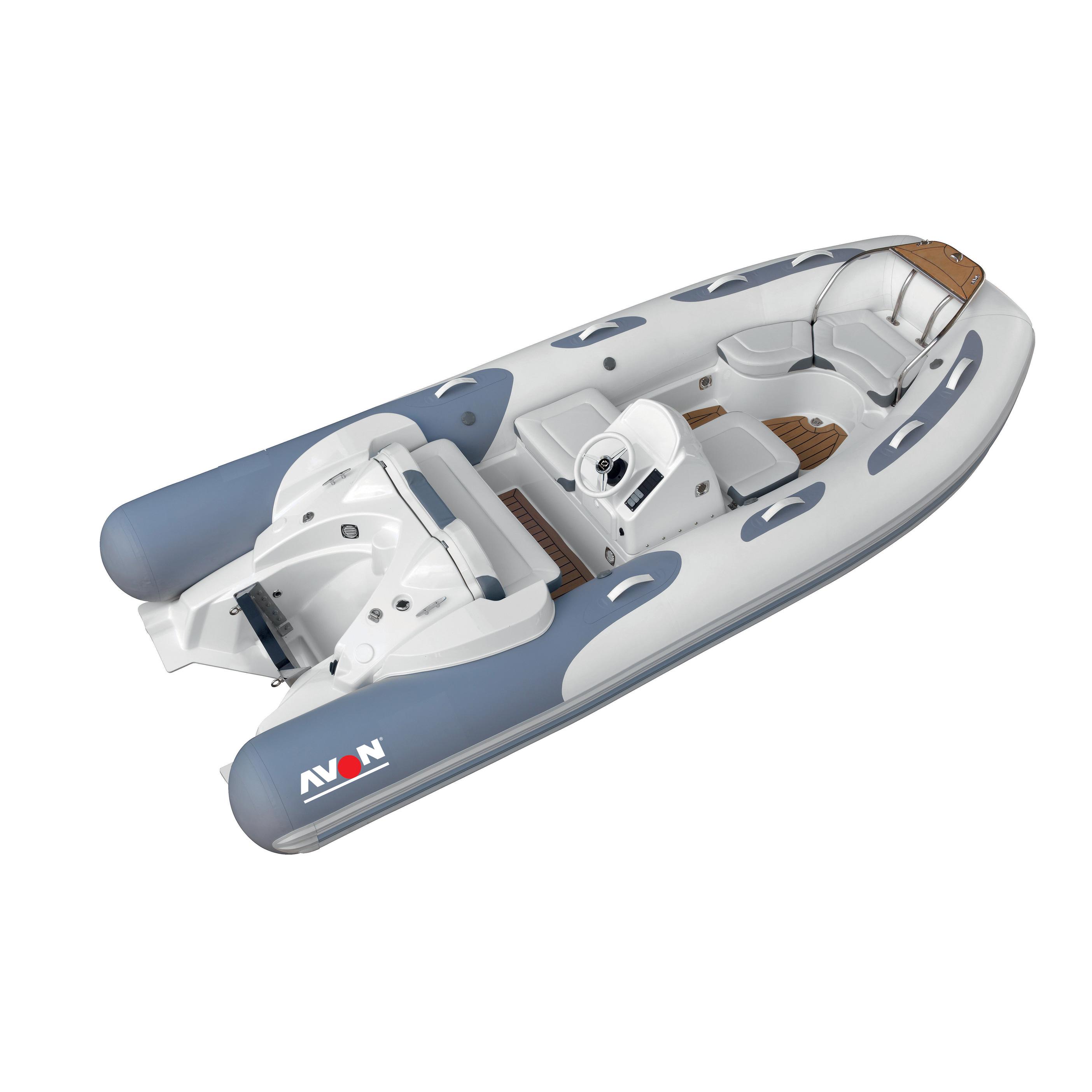 Avon's outboard-powered Seasport line is tremendous fun