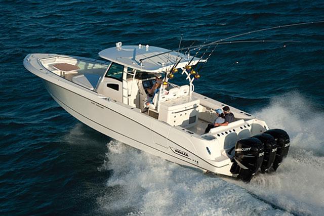 Top fishing boats: Boston Whaler 370.