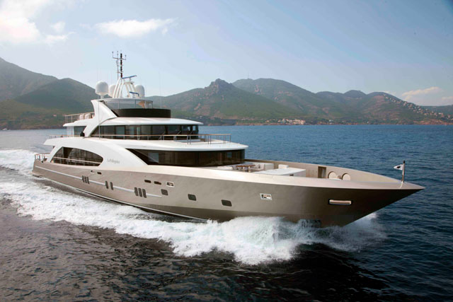 Largest motor yacht debuts in Cannes