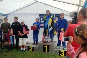 Silver medal for Ben Jelf