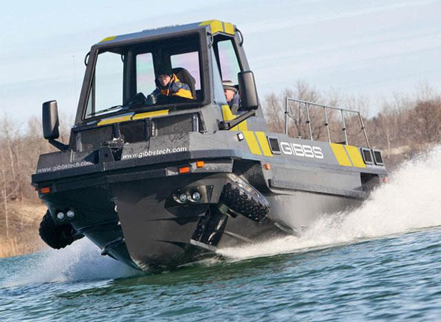 Gibbs Phibian: best amphibious vehicles