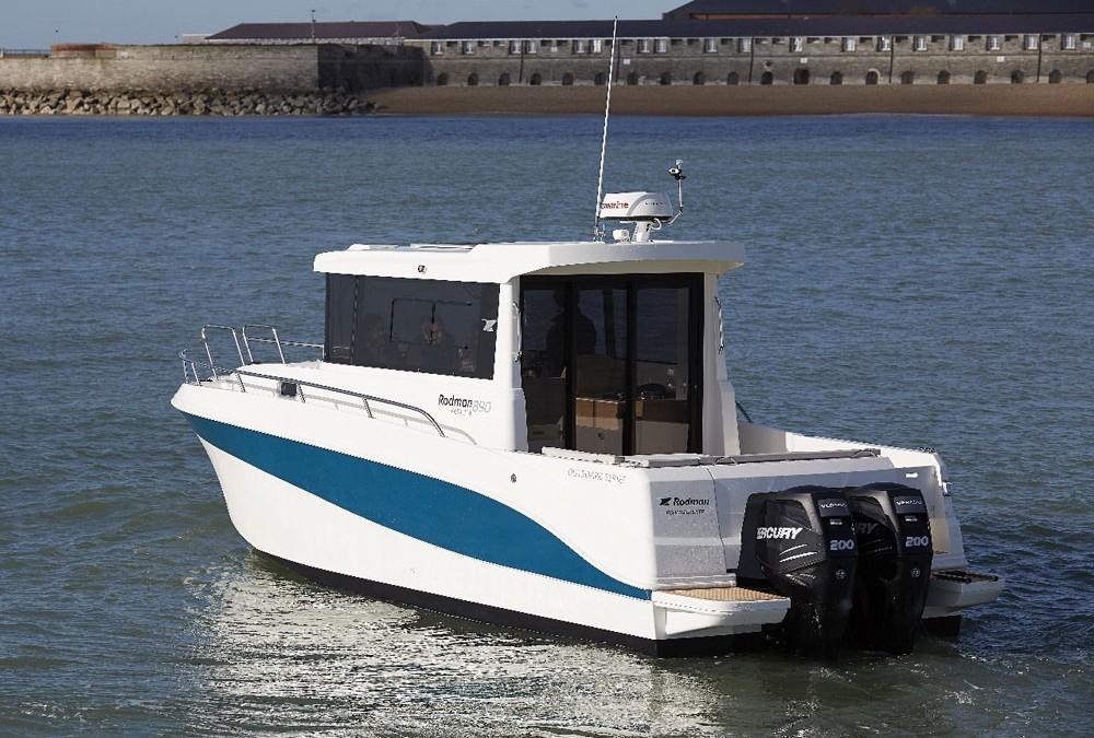 Rodman 890 Ventura: ideal for UK waters