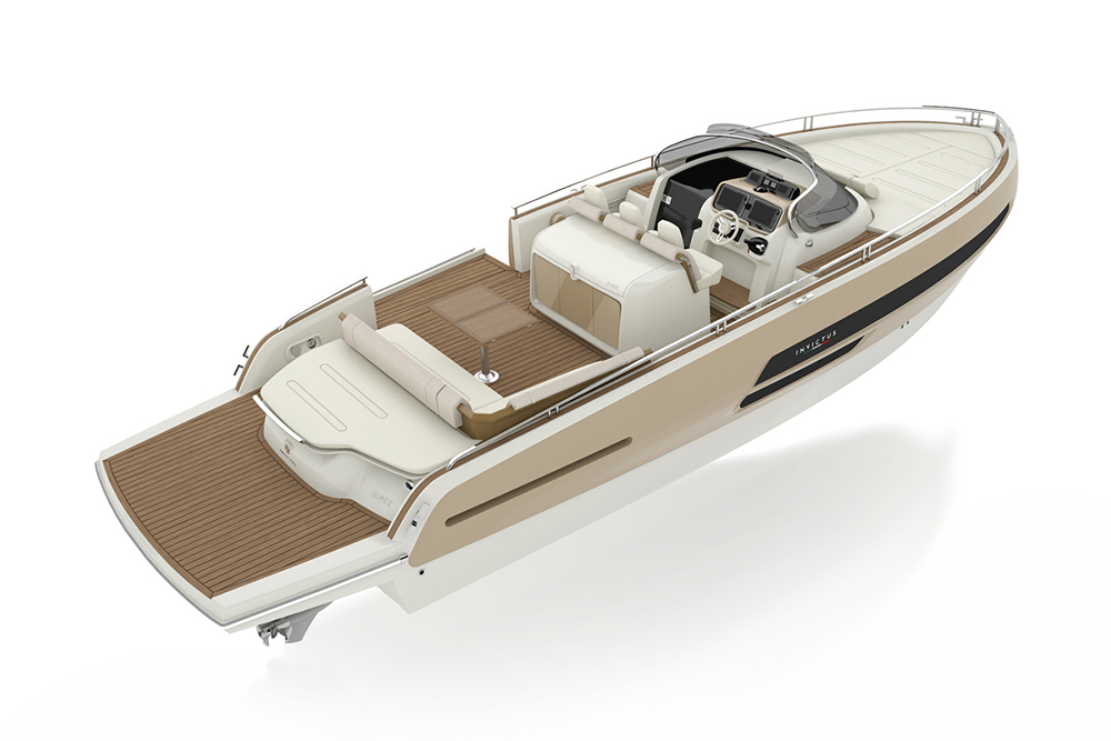Invictus 370 GT overview