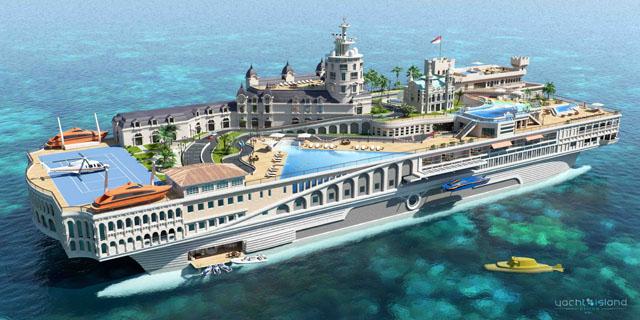 Bond villain boats: Streets of Monaco