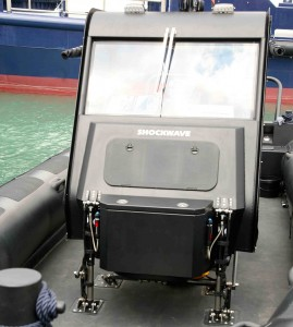 Shockwave seats at Seawork