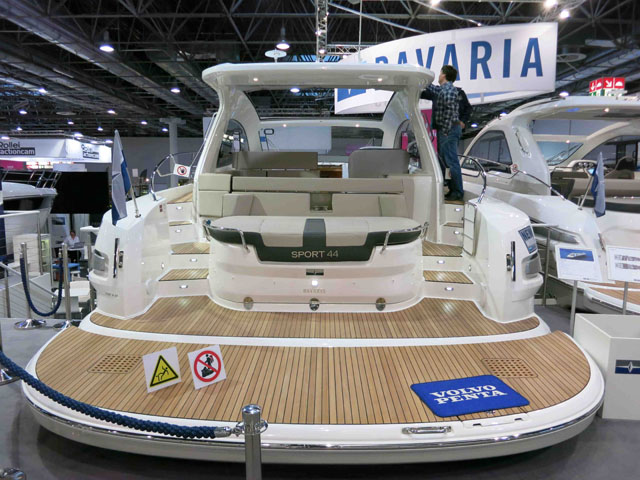 Teak lined spaces: Bavaria 44 HT Highline review