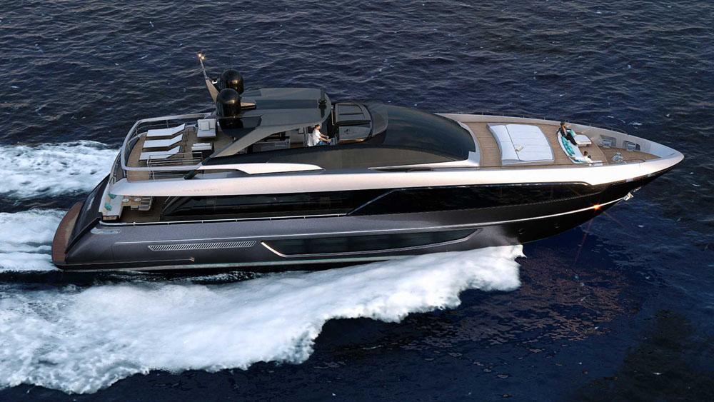 Riva 100 Corsaro - best big party boats