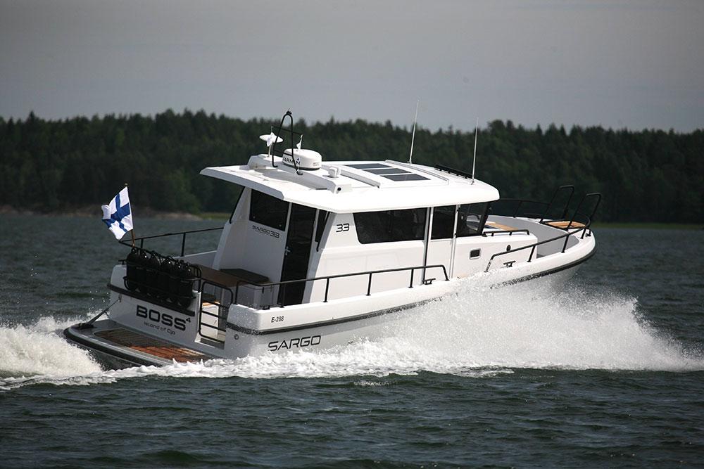 Powerboats at Southampton: Sargo 33