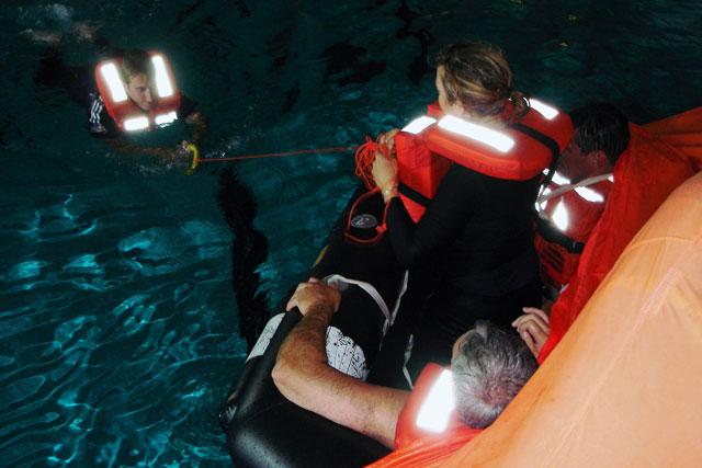 sea survival course
