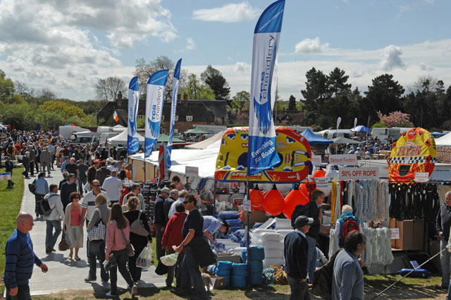 Beaulieu Boat Jumble is definitely among the best boating events of 2015